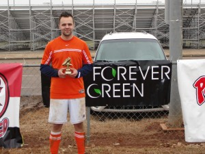 Forevergreen Golden Boot Winner - Rec Division